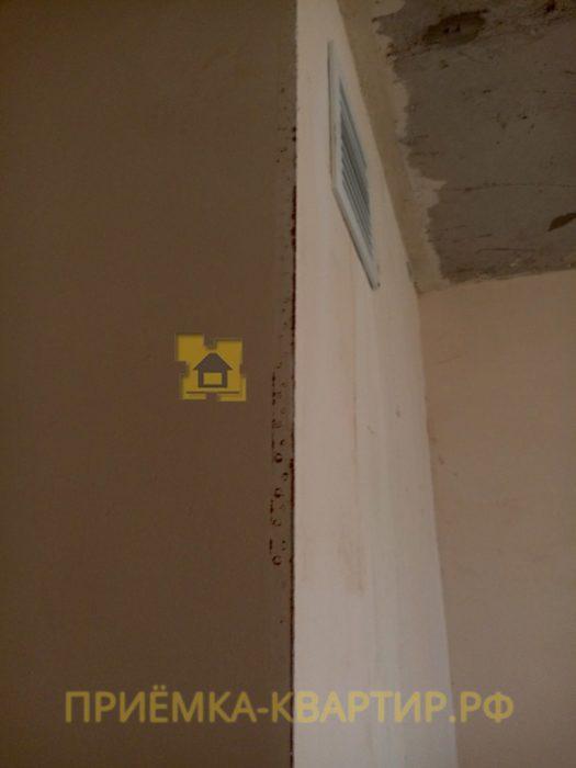 Приёмка квартиры в ЖК Новое Янино: проступление ржавчины