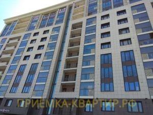 """Отчет о приемке 2 км. квартиры в ЖК """"Лайф Приморский"""""""