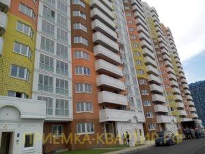 """Отчет о приемке 1 км. квартиры в ЖК """"Новая Каменка"""""""