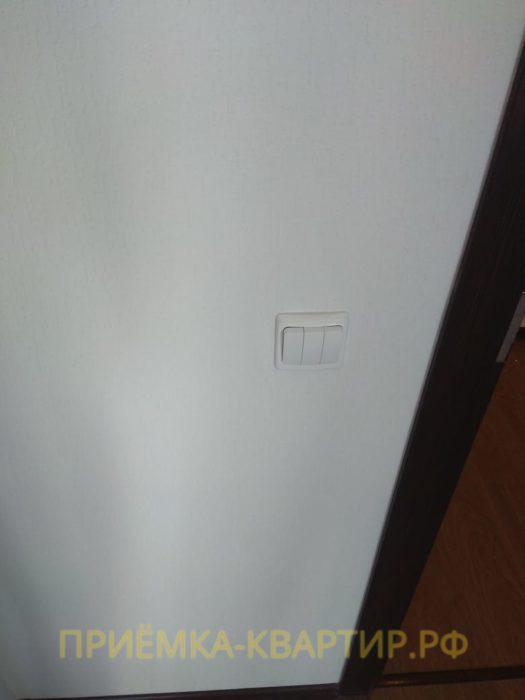 Приёмка квартиры в ЖК Семь Столиц: Не работает выключатель