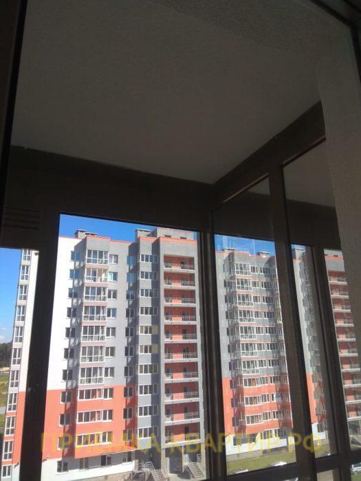 Приёмка квартиры в ЖК Семь Столиц: Царапины на стеклопакете