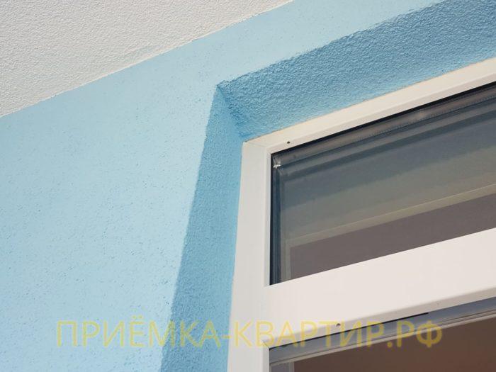Приёмка квартиры в ЖК Чистое Небо: Трещина по утеплителю в верхнем левом углу