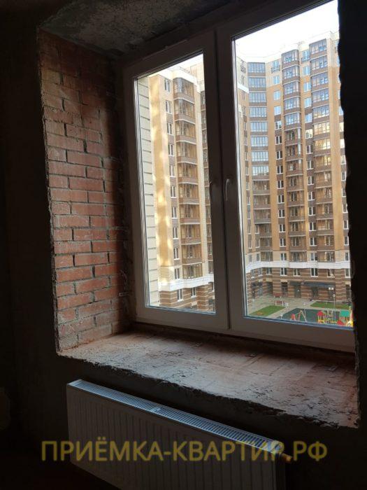 Приёмка квартиры в ЖК Капитал: Требуется регулировка оконных створов