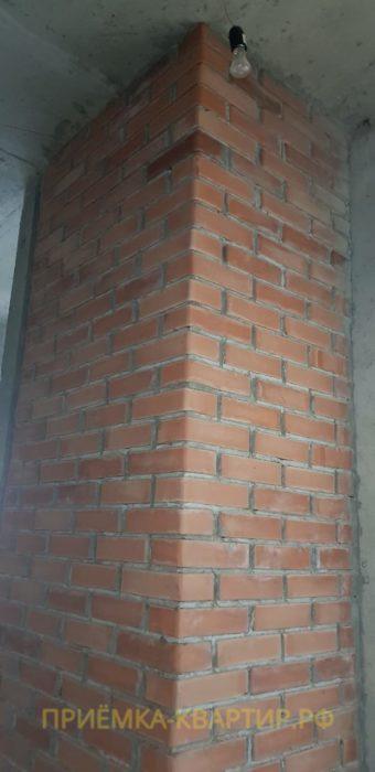 Приёмка квартиры в ЖК Look: Отклонение по вертикале вентиляционного блока свыше 30 мм