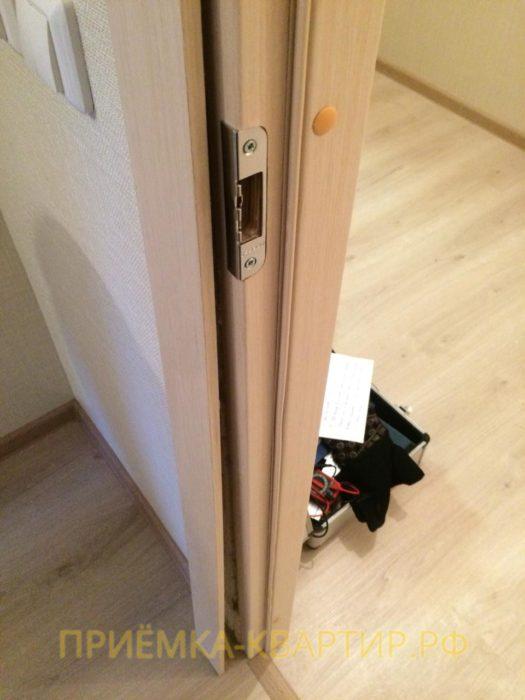 Приёмка квартиры в ЖК Ясно Янино: Не закреплён наличник