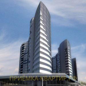 """Отчет о приемке 2 км. квартиры в ЖК """"Паруса"""""""