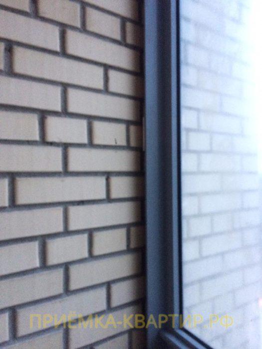 Приёмка квартиры в ЖК Малая Охта: Отсутствует нащельник