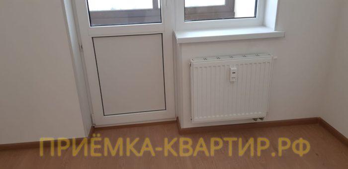 Приёмка квартиры в ЖК Солнечный Город: На радиаторах отопления нарушено ЛКП (лакокрасочное покрытие)