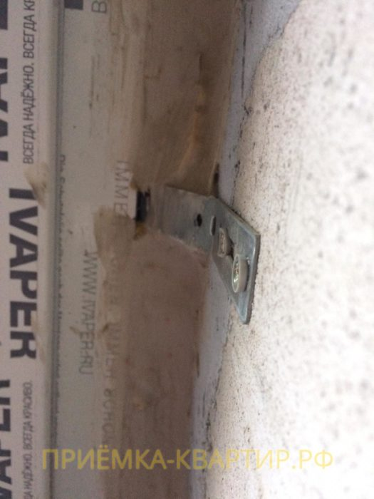 Приёмка квартиры в ЖК Чистый Ручей: Толщина монтажного шва превышает нормативные допуски