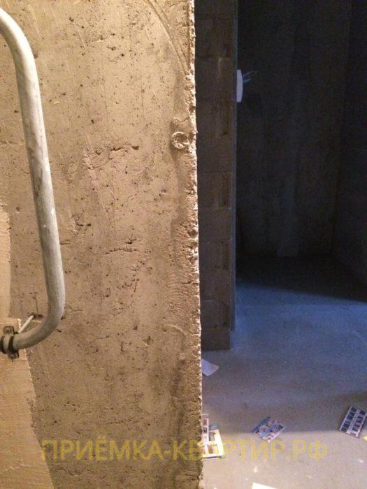 Приёмка квартиры в ЖК Чистый Ручей: Отклонение по вертикали дверного проёма свыше 15 мм