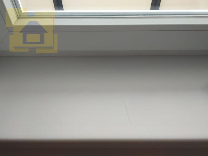 """Приёмка квартиры в ЖК UP-квартал """"Комендантский"""": Сколы и царапины по подоконнику"""