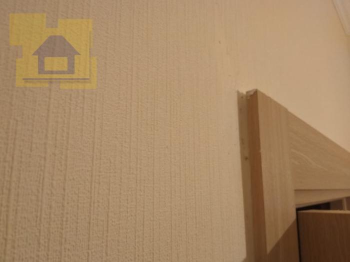 Приёмка квартиры в ЖК Краски Лета: Наличник не прилегает к стенам
