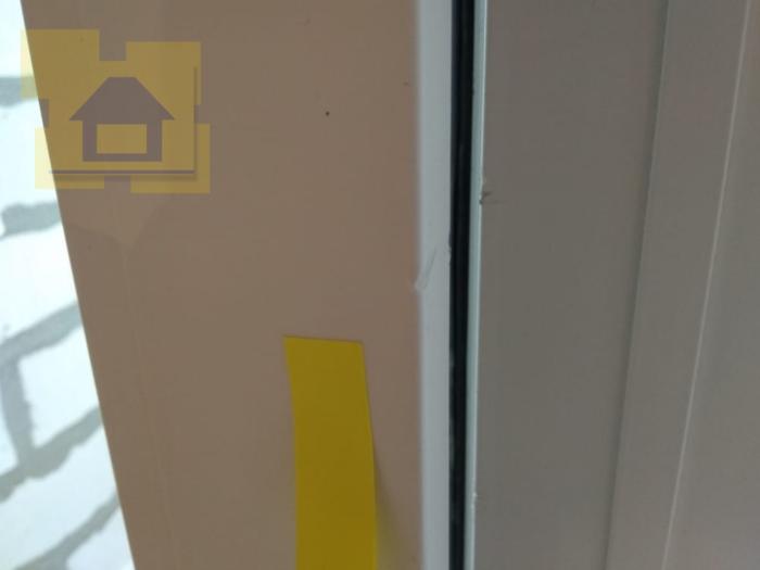 Приёмка квартиры в ЖК YOUПитер: Профиль окна, сколы царапины