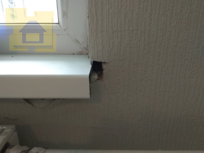 Приёмка квартиры в ЖК Я-Романтик: Коротко отрезаны подоконники