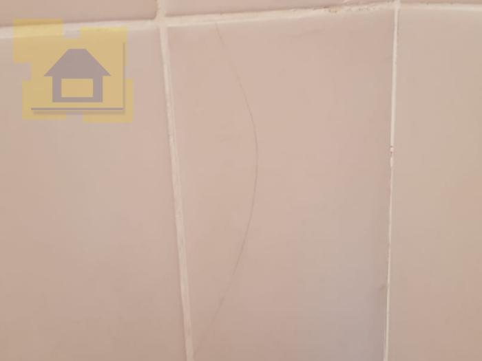 Приёмка квартиры в ЖК Весна 3: Битая плитка