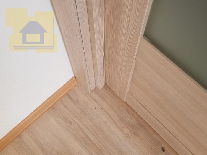 Приёмка квартиры в ЖК Весна 3: Не закреплён добор и наличник