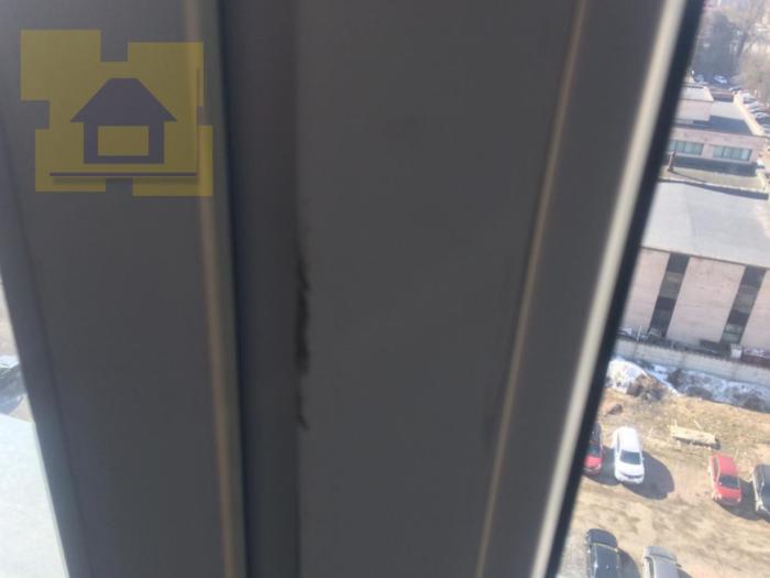 Приёмка квартиры в ЖК Дом на Обручевых: Профиль окна в штукатурке