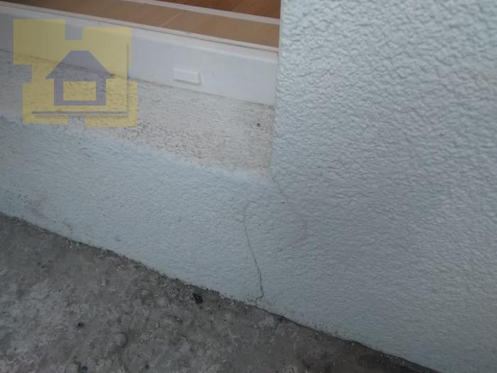 Приёмка квартиры в ЖК Полюстрово Парк: Трещина на фасаде