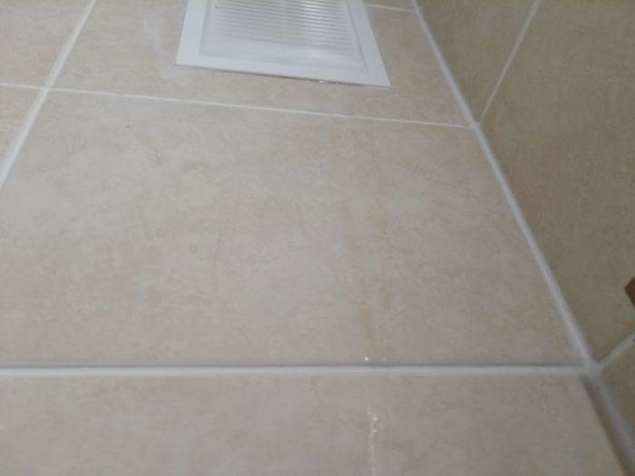 Приёмка квартиры в ЖК Калейдоскоп: Во время приемки, неожиданно с потолка у вент.канала потекла вода
