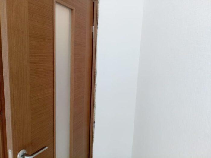 Приёмка квартиры в ЖК Калейдоскоп: Наличники на кухне вывалились из пазов