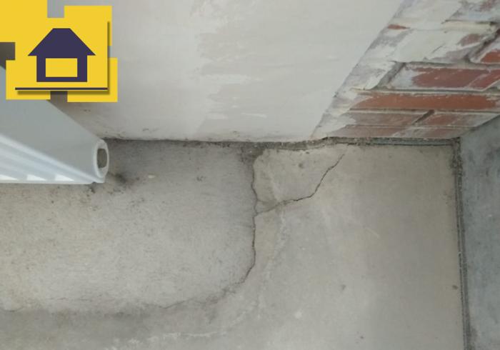 Приёмка квартиры в ЖК : Разрушение стяжки
