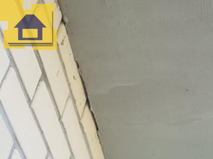 Приёмка квартиры в ЖК : Не зачеканены отверстия примыкания наружной стены к потолку балкона