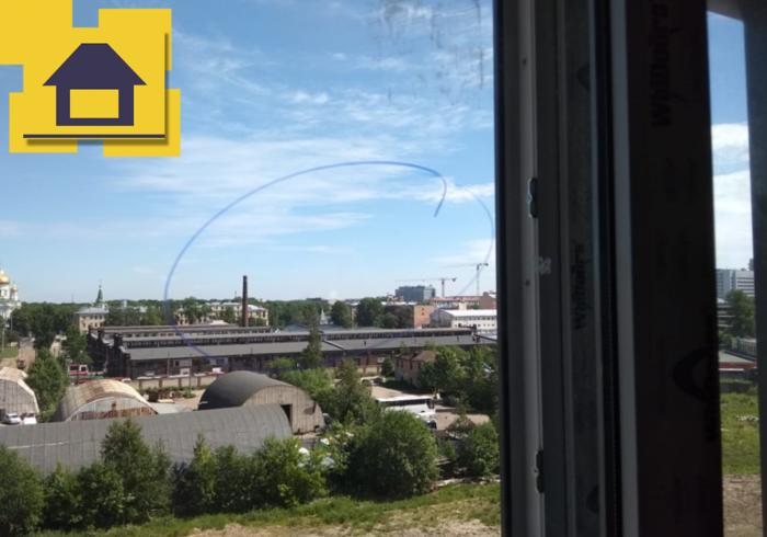 Приёмка квартиры в ЖК : Царапины по стеклопакету