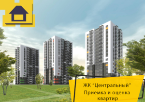 """Отчет о приемке квартиры в ЖК """"Центральный"""""""
