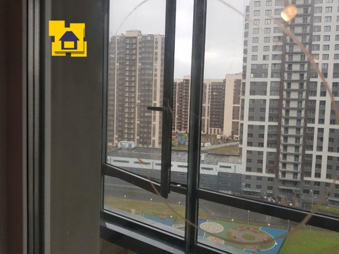 Приёмка квартиры в ЖК : Царапины на стеклопакете