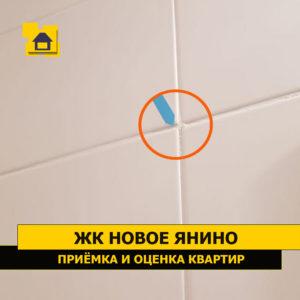 Приёмка квартиры в ЖК Новое Янино: Уступы на плитке. Смещение швов от оси
