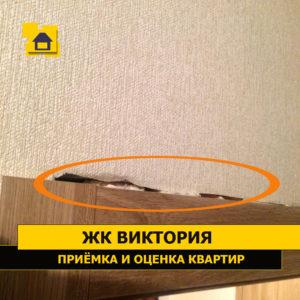 Приёмка квартиры в ЖК Виктория: Щели над дверной коробкой