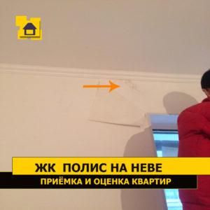 Приёмка квартиры в ЖК Полис на Неве: Местная неровность , исправляют при нас