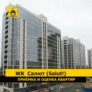 """Отчет о приемке 1 км. квартиры в ЖК """"Салют (Salut!)"""""""