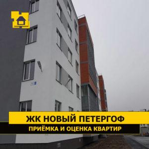"""Отчет о приемке квартиры в ЖК """"Новый Петергоф"""""""