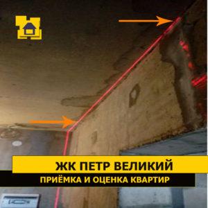 Приёмка квартиры в ЖК Петр Великий и Екатерина Великая: Смещение перегородки от оси 43 мм