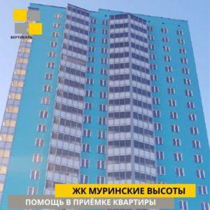 """Отчет о приемке 1 км. квартиры в ЖК """"Муринские высоты"""""""